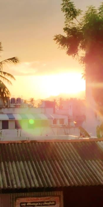 Sun Set 🌤 #roposo #sunset #sathyamangalam #westernghats #nature #goldenhour #evening #trending #featurethisvideo #featurethis #madeinindiaroposo #madeinroposo