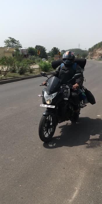Delhi to leh Ladakh bike trip #travel #biketrip #pulsar #canon