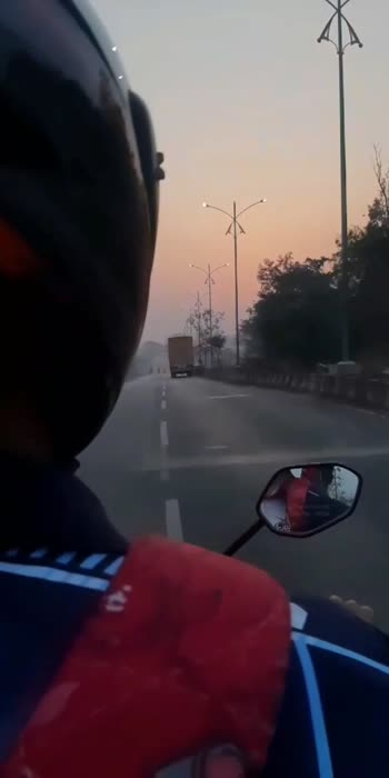 #voiceofindia #sunoji #sunrise #trendingvideo #trevelling #trevellove #roposo #bikelover #bikerider #biketravel #biketrip #mumbai