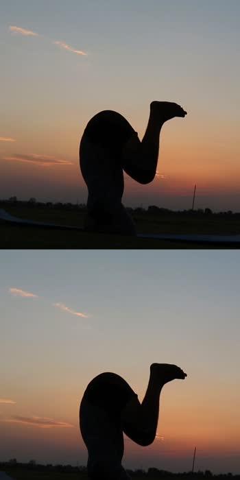 #sunset_vision #yogainspiration #yogaday #yogaeverydamnday #yogaposes
