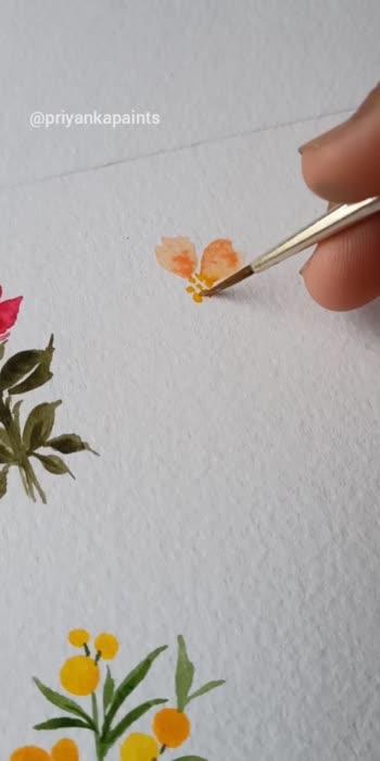mini florals  #flowers #florals #floralprint #flowerslovers #arts #artist #artoftheday #paintingart #painting #watercolour