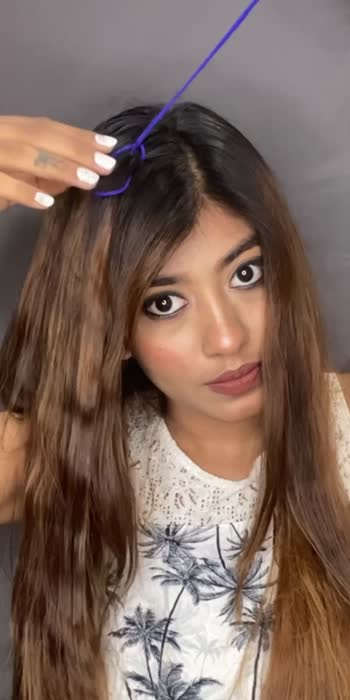 #hairstyle #hairdo #roposo #roposoindia #howtostyle #like #love #follow