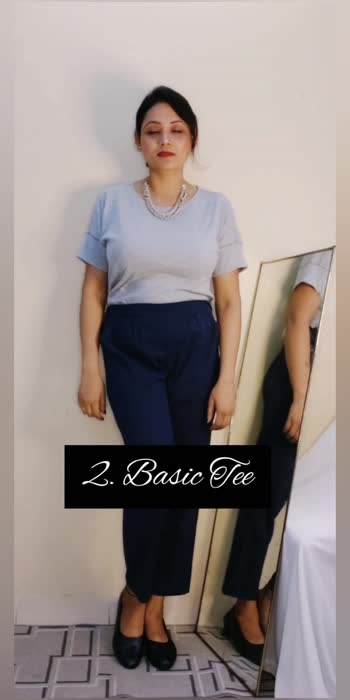 How to style a Trouser?   Hope you find it wearable.    #roposostar #roposo #stylish #styleblogger #fashionblogger #viralvideo