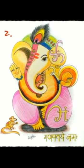 Which one did you like the most? Tell in the comment section.  #ganesha #ganeshaart #pencilcolours