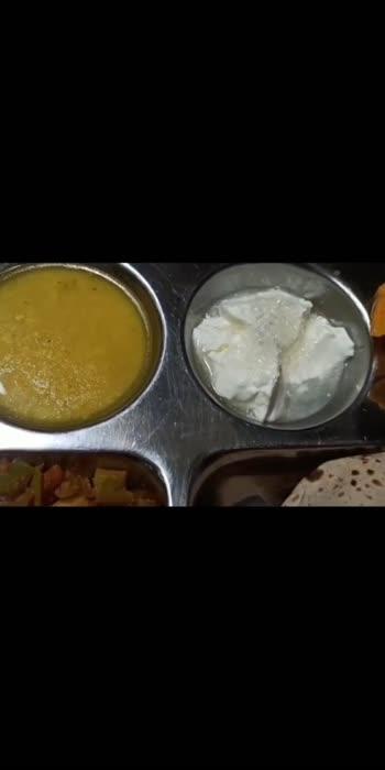 खाना तैयार है 🙏 #ektalks #yoursvihaan #thali #vegthali #satvikkhana #lunchideas