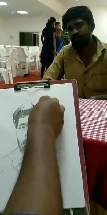 live portrait💪#portrait #drawing #foryou
