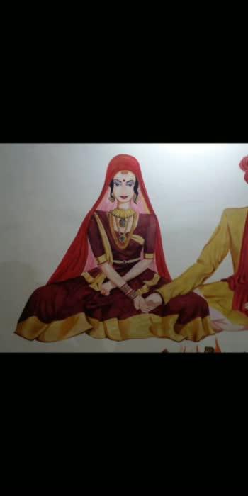 wedding painting#wedding Art