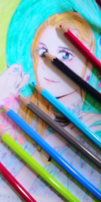 #art #artist  #artlife  #artists #anime #animelover  #animelove #animeart #animes #watercolour  #watercolorpainting #watercolorillustration  #drawing #draw #pencilsketch  #pencilcolour #pencilcolours #pencilart  sayitwitheyes#your2020 #2021 #virtualvacation#basanti