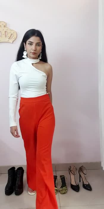 One Trouser - Four ways #fashion #ootd #ootdfashion