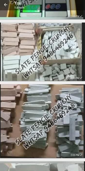Slate pencils crunchy Whtsap 9486489248