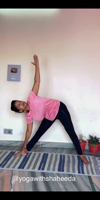 For flexibility #roposolove #roposostar #yogawithshaheeda
