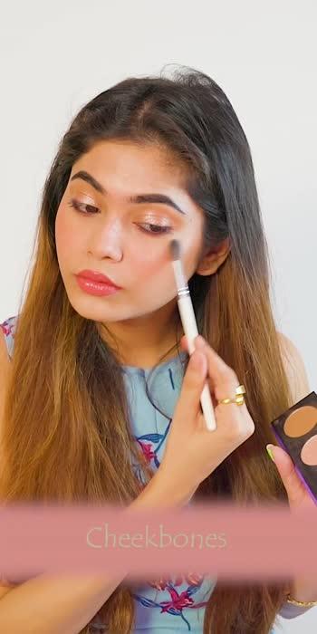 highlighter application #makeuptips
