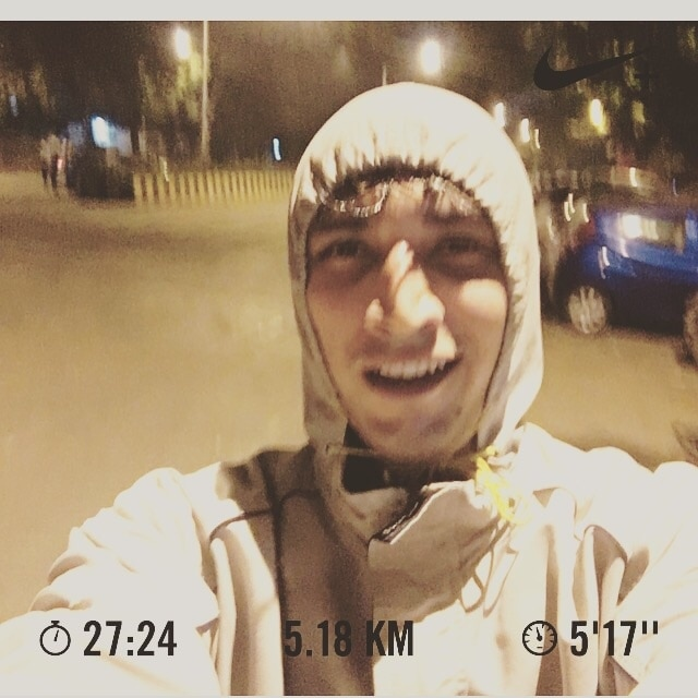 5.18km - 27:24mins . BAMN!! And thats the fastest 5k yet. #nrc #nikerunclub #nikerunning #runhard #runfast #instarunner #instafly #runnershigh