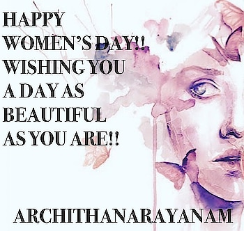 ~Happy women's day~ #archithanarayanamofficial #womensday #womenpower #staystrong #staybeautiful