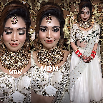 Bridal makeup with a Difference , Indian bride Marrying a English man , wanted a Fusion look #meenakshidutt #meenakshiduttmakeoversdelhi #meenakshiduttstyle #meenakshiduttmakeovers #makeup and eyes makeup #makeupartistdelhi #makeupartistdelhi #hairandmakeupstudio #bridalmakeupartist #bridalmakeupartistdelhi #weddingmakeup #indianbridalmakeup #indianbride #makeupacademydelhi #makeupschool #makeup and hair