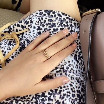 Stacked up rings and animal print 💃🏻🙌🏻 . . #howilikeitjournal #howilikeit #fashion #fashionblogger #blogger #blog #weekend #weekendvibes #sunday #leapordprint #print #animalprint #rings #ringstack #nudenails #nudenailpaint #ring #accessories