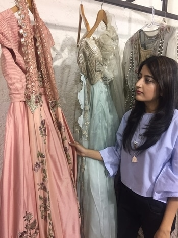 Yesterday at the #CollectionLaunch of the label #RidhimaBhasin !  . . . #howilikeitjournal #howilikeit #fashion #fashionblogger #blogger  #indianfashion #Pastels #newcollection #indianwear #garments #weddinggarments