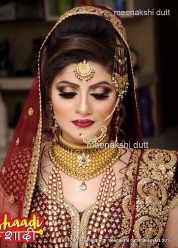 Beautiful #muslimbride ready for her #Walima bride #meenakshiduttmakeoversdelhi #meenakshidutt #mua #makeupartistindia #makeupforbride #muadelhi #bridalmakeup #indianbride #indianbride2017 #bridalmakeupartistindia #indianbridalmakeupartist #muslimbride #shaadishaadi #makeup