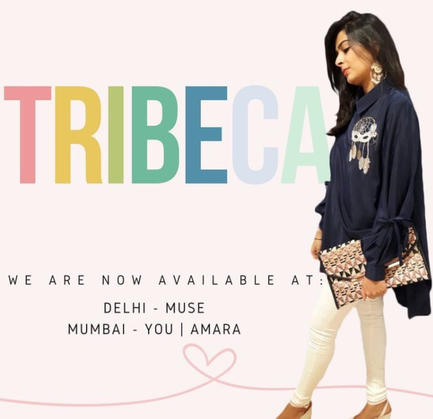 Instagram: www.instagram.com/tribeca_byme Facebook: www.facebook.com/tribecabyme . . . The Dream catcher #Tribeca #NewDelhi #Mumbai #Chennai #Shirts #Dresses #Muse #Amara #You #NewCollection #Trending #Style #Classy #Fashion #Luxury #StyleOfTheDay #FashionBloggers #GirlsWishlist #India #ThinkTribeca #KittyParty #Brunch #Sundown #Cocktail #DinnerDate #ShopTribeca #ShopTillYouDrop #WearTribeca #SummerCollection     Contact  us on +919820791753