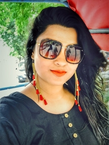 Life is a mix of black and red! ;) #ethniclook #fusionwear #red-danglers #blackkurti #loveformattelips #comfortable #summershades  #comfortwear #nightwear