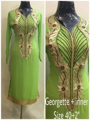 KURTI 1800/- Only sizes mentioned avail