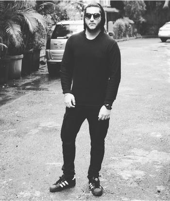 Color is everything , Black & White is more. #filter #standtall #swag #dapper #dope #nischayralhan #rapperlook #adidasoriginal
