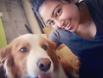 I was busy capturing our #superhappy faces.. and I received a #LickAttack out of no where! 😲#amour #love #happiness #heartanimals #lovedogs #furryfriend #pawsome #pawstagram #sheerjoy #fourleggedfriends #instapic #instalove #instalike #eat #pray #love #live #laugh #stayhappy #stayclassy #stayhumble #stayblessed #foodfashionandfunwithsonal