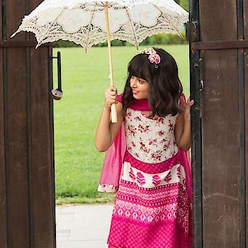 Your little #princess will love it! Introducing a #pink #printed kurta by Draaz with matching #pants & dupatta: https://www.indiancultr.com/new-arrivals/girl-power-by-draaz?p=1&trk=hmpg-slider #ethnic #traditional #girl #makeinindia #indianwear #love #beautiful #wow #amazing #shoppingonline #tradition #new #incredibleindia #occasion #celebrate #kidswear #kids #children
