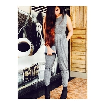 #outting #jumpsuit #jumpsuitlook #greylove #greying #blackandgrey #fashion #be-fashionable #fashionisbeauty #fashionable  #ropo-lov #roposostyleblogger #roposobloggernetwork #ropo-style #ropo-love #ropo-good #ropogrammer #accessorieslove #bag-it #style-file #roposomoments #folllow #followmeonroposo #followformoreposts #roposing #followback #stylepost #ootd  #styleup