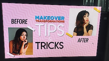 Have u tried a #makeover yet?  Watch this space for my #beauty #fashion n #hairstyling #tips from #bollywood