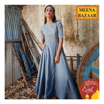 Give an interesting twist to your wardrobe with our #newcollection.  Click here to explore more and shop now: http://www.meenabazaar.com/designer-wear/eid.html #MeenaBazaar #officialwear #officialkurti #casualwear #indianwear #ethnicwear #ethnicday #occasionwear #designerwear #ootd #delhi #FashionDairies #2017fashiontrends #StreetStyle #Stylish #lookbook #fashionblogger #fashionweek #fashionista #indianfashionblogger #couturefashionweek #couture #hautecouture #style #inspiration #fashioninspiration