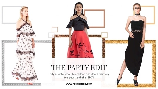 Whether it's a girl's night out or a black-tie gala or a cocktail party, your unparalleled fashion sense is sure to be the talk of the town with @rock_n_shop's curated Party Edit! 🥂 #partyessentials #thepartyedit #rocknshop #BeMadly  https://goo.gl/9EVrBt