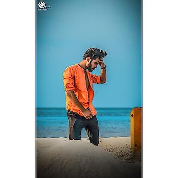 Beach life ! #beach #posing #orangelove