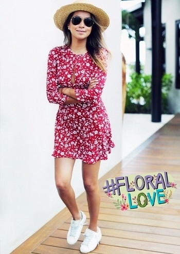 #summers #summer #summer-style #musthave #summerdress #cute #fresh #2017ready #2017fashiontrends #summer-looks #lookoftheday #dress #casuals #casualwear #casual-wear #florallove #street-style