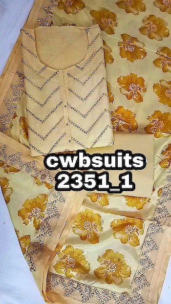 1280+$ Shirt chanderi silk embrodied  Bust 50aprx Bottom cotton  Dupata stole.print 👌🏻👌🏻👌🏻👌🏻