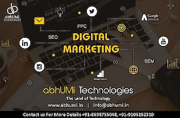 Grab the business today from the market. Digitalize your business, start Digital marketing.  We serve you best marketing solutions.  Call Now: +91-8698755048 Email Now: info@abhumi.in  #abhumi #digital #marketing #business #market #socialmedia #solutions