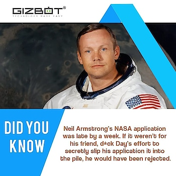 Did you know? #facts #techfacts #nasa #nasafacts #space #moon #neilarmstrong  #nasatechnology #nasatechnologyfacts  #tech #news #gadgets #online #technology #web #onlinenews #tehnews #technologynews #techlovers #webnews #onlinenews #technologylover