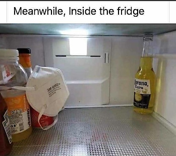 Inside Fridge