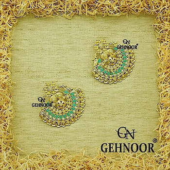 Gorgeous Ferozi Oversized Earrings are our Ideal Saturday Night Crush! 💕💎 . These Gold Polished Beauties are Studded with Feroza Semi Precious Stones & Fine Pearls all over. The perfect Statement Piece for the Perfect you! ❤️💎 . www.gehnoor.com 💻 . FREE SHIPPING anywhere in India 🚙 . Cash On Delivery Available across India 💲 . WhatsApp at 07290853733 📱 . www.facebook.com/Gehnoor/ . gehnoor@gmail.com 📝 . #bride #goldjewellery #kundannecklace #traditionaljewellery #indianbride #photooftheday #instabride #bridalwear #bridaljewellery #tags #like #likeforlike #followfollow #followus #followback #gehnoor #earrings #chandbali #kundan #everydayphenomenal #fashionblogger #indianfashionblogger #ColourMeGehnoor #Colourfest #ferozi #feroza