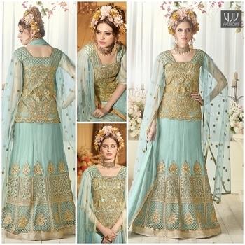 Buy Now @ https://goo.gl/CQ3i2d  Beautiful Blue Color Embroidered Work Lehenga Choli  Fabric- Net  Product No 👉 VJV-SYBE96  @ www.vjvfashions.com  #chaniyacholi #ghagracholi #indianwear #indianwedding #fashion #fashions #trends #cultures #india #womenwear #weddingwear #ethnics #clothes #clothing #indian #beautiful #lehengasaree #lehenga #indiansaree #vjvfashions #bridalwear #bridal #indiandesigner #style #stylish #bollywood #kollywood #celebrity #outfits #vjvfashions #lehengas