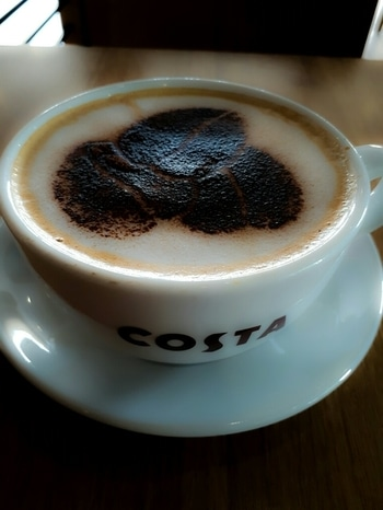 #gudmorningfriends #startyourbusiness  #costacoffee  #behappy
