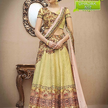 #orders #now #WhatsApp +91-9687636387 #Whatsapp +91-7990312891 #Lehenga choli #Fabric pure banarasi natural silk #Works digital print and mashine  work #wedding Lehenga choli #designer choli
