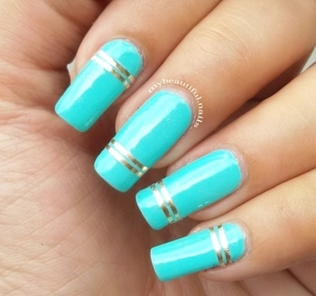 I stumbled upon this nail art I did in June (Back when I use to have long AF nails) but never posted. So here it is. Products used @stayquirky.in nail polish Blue Nail Swag Striping tape  #Nails #Nail #NailPolish #NailPolishAddict #NOTD #NailPolishLover #NailstaGram #NailAddict #NailSwag #NailsOfInstagram #NailsOfTheDay #Nails2Inspire #NailStamping #Reversestamping #ManiOfTheDay #StampedNails #NailArt #NailedIt #GradientNailArt #CuteNails #PolishLicious #StampingNailArt #NailBlogger #SimpleNailArt #IndianNails #IndianNailArtist #IndianNailArt #StayQuirkyNailPolish #SatyQuirky
