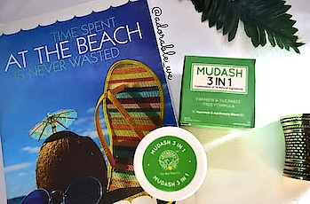 Today again we have on our  review desk @greenberryorganics. So today we have their MUDASH 3 In 1 Face Mask, Scrub and Cleanser. . . Now as you will see the ingredients list of this product which makes it completly appealing and we definately need to check this product out and how it works....😃 . . This product comes with Activated Charcoal, Tea Tree, Jojoba, Clove Oil & Bentonite, Kaolin Clay (Paraben, Sulphate & Phthalate FREE) . . ▶️ PRICE & QUANTITY - ☆ 100 gms worth Rs. 595 ( you can get it at a very good discount at @amazondotin at Rs. 505 ) . . ▶️ AVAILABLE ON - Its available on @amazondotin . . ▶️ ABOUT GREENBERRY ORGANICS- Greenberry Organics creates a unique combination of ancient Ayurveda-inspired remedies with modern scientific techniques to create products which are free from harmful fillers (Chemicals) . . . ▶I NGREDIENTS - Aqua, Kaolin, China Clay, Glycerin, Zinc Oxide, Aloe Vera (Aloe Barbadenis), Bentonite Powder, Turmeric Powder (Curcuma Longa), Isopropyl Myristate, Jojoba Oil (Simmondsia Chinensis), Activated Charcoal Powder, Sodium Methyl Cocoyl Taurate, Pentavitin, Jojoba Beads, Tea Tree Oil (Melaleuca alternifoliate), Clove Oil (Syzygium aromaticum), Vitamin C, Fragrance, Vitamin E . ▶️ FEATURES - 1.AYURVEDA & APOTHECARY blend of 14 natural extracts. 2. A multipurpose 3 IN 1 product in a jar, works as a face mask, cleanser and scrub. 3.Upto 40% activated charcoal with the goodness of Bentonite & Kaolin. 4. Completly natural with no harsh chemicals. 5.100% PARABEN FREE and SULPHATE FREE FORMULA . . . ▶️ IMPRESSIONS - 1. The ingredients used in this Mud mask are really appealing and since it has no parabeens this is save for your skin. 2. When i used it on my face i could feel the scrubbing particles on my face. 3. It took a while to dry up and when i washed it i could see a little glow on my face.. I would personally recommend to use this products as a cleanser and a scrubber because the particles makes the cleansing process easy but as face mask i could not see much difference. . . ▶ RATING - ✔✔✔✔ . #adorablewe #greenberryorganics #skincareproductsreview #review #indianskincarebrands #naturalskincareproducts #naturalcleanser #likeforlike