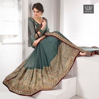 Buy Now @ https://goo.gl/vLbrvu  Fashionable Grey Color Satin And Net Classic Saree  Fabric-Net,Satin  Product No 👉 VJV-WEDD2061  @ www.vjvfashions.com  #chaniyacholi #ghagracholi #indianwear #indianwedding #fashion #fashions #trends #cultures #india #womenwear #weddingwear #ethnics #clothes #clothing #indian #beautiful #lehengasaree #lehenga #indiansaree #vjvfashions #bridalwear #bridal #indiandesigner #style #stylish #bollywood #kollywood #celebrity #outfits #vjvfashions #sarees