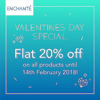 Valentines Day Sale Flat 20% off on all products. Offer valid only until 14th feb  #valentinespecial❤️ #valentinesday #special  #offer #accessoryaddict #accessories #electronics #giftsforher #giftsforhim #gifts #giftideas #giftshop #sale #offers #discount #enchante #enchanté #topshop