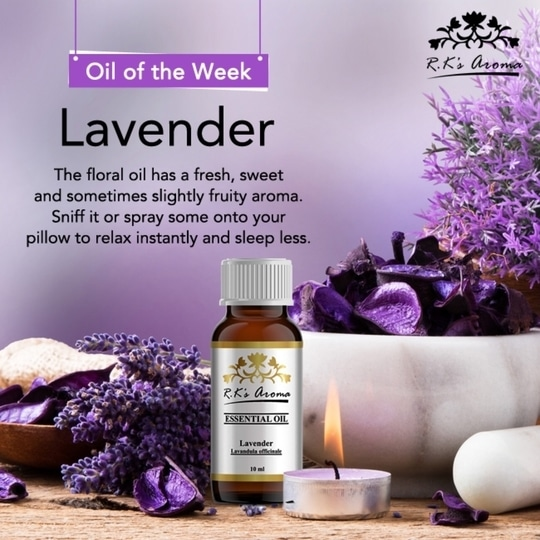 Lavender oil has been proven to help you recover from stress and tension. Dab a few drops on a napkin, the back of your hand or your pillow for better sleep. #OilOfTheWeek  Buy Now: http://rkaroma.com/product-category/essential-oil/  #EssentialOils #EssentialWellness #HerbalHealth #GoNatural #OilIsWell #GoGreen #GreenLiving #ChemicalFree #PlantTherapy #HealthySkin #SelfLove #GlowGreen #Organic #Detox #Destress #GreenIsGood #PureSkin #BottledWellness #TherapyInABottle #SkinLove #Oil #SkinBenefits #HairBenefits