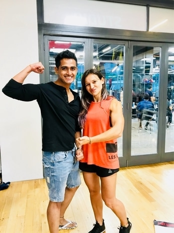 Body Pump Module Training taken by an amazing instructor & motivator @denisa_alexandru  Thank you so much for all the support Denisa, Prince & Team!! #fitnessfirst #fit #fitness #motivation #bodypump #strength #barbell #power #lesmills #lesmillspump #lesmillstribe #team #instamoments #train #training #workhard #playhard #insane #fitnessmodel #roposo #mensonroposo #mumbai #india #sajansinghrawat