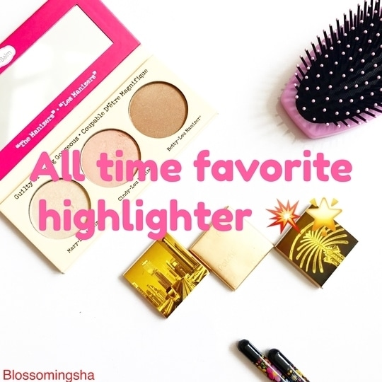 One of the best highlighter ,Balm cosmetics 💥