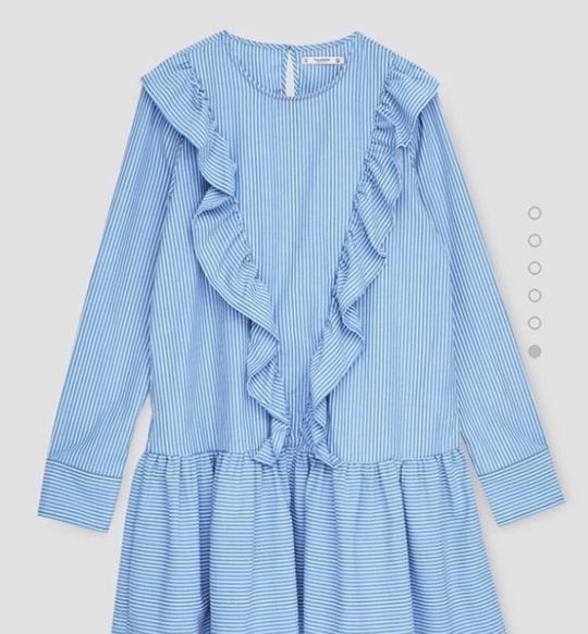 Cotton Frill Dress #cotton